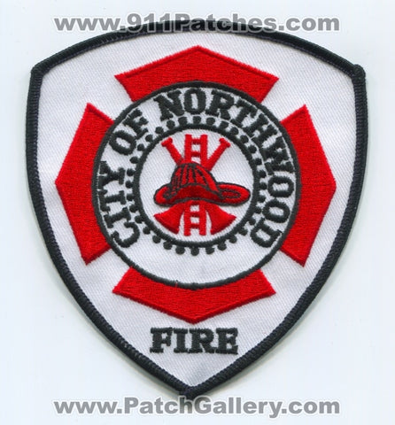 Northwood Fire Department Patch Ohio OH
