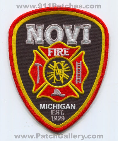 Novi Fire Department Patch Michigan MI