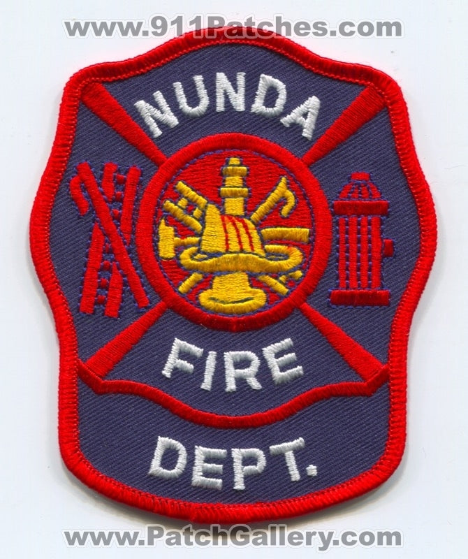 Nunda Fire Department Patch Unknown State