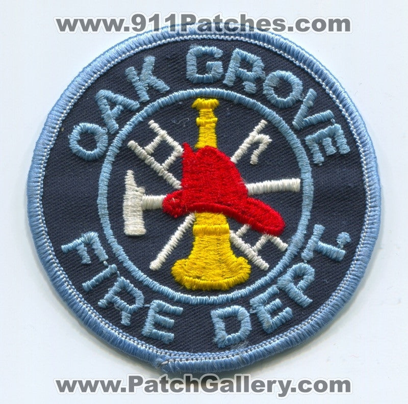 Oak Grove Fire Department Patch Unknown State