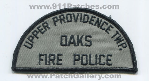 Oaks Fire Police Department Upper Providence Township Patch Pennsylvania PA
