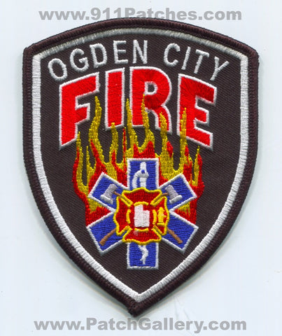 Ogden City Fire Department Patch Utah UT