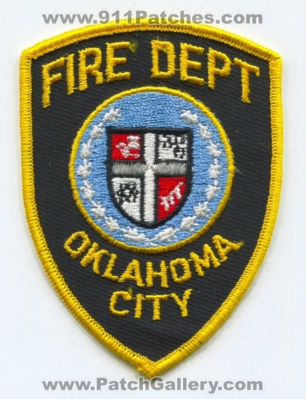 Oklahoma City Fire Department Patch Oklahoma OK