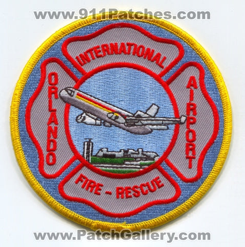 Orlando International Airport Fire Rescue Department Patch Florida FL