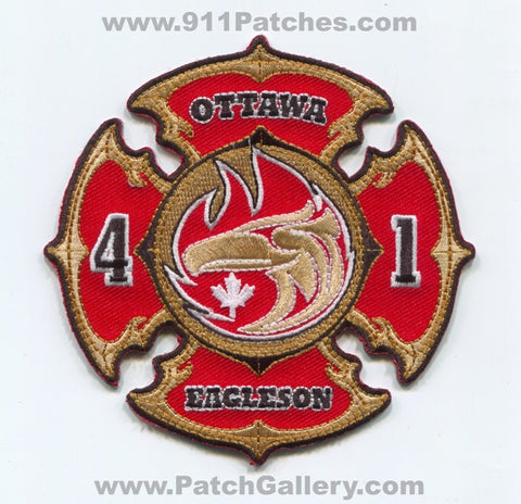 Canada Ontario - Ottawa Fire Department Station 41 Eagleson Patch