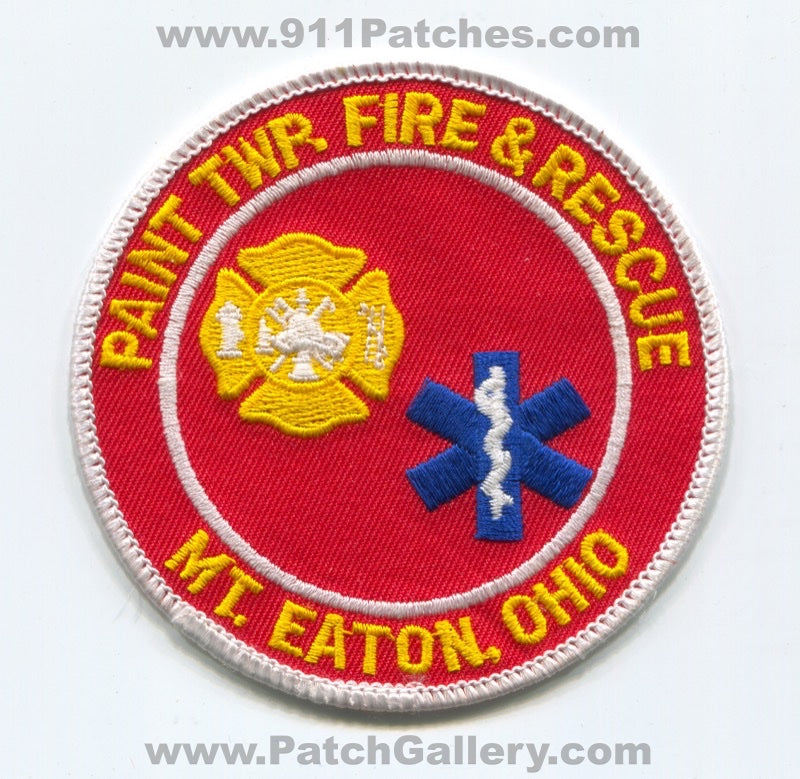 Paint Township Fire and Rescue Department Mount Eaton Patch Ohio OH