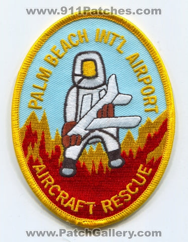 Palm Beach International Airport Fire Department ARFF Aircraft Rescue Patch Florida FL