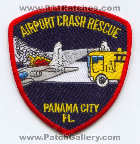 Panama City Airport Crash Fire Rescue CFR Department Patch Florida FL