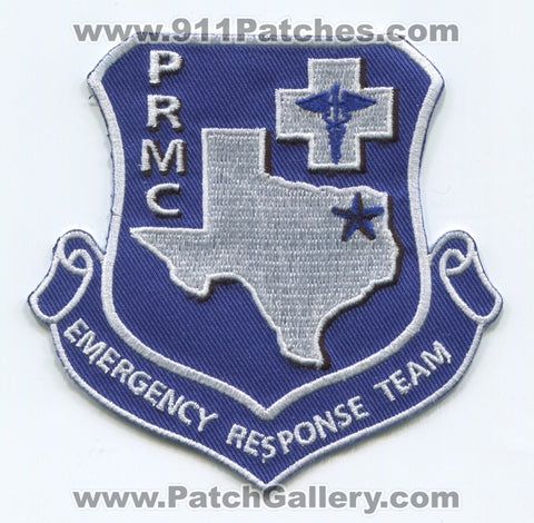 Paris Regional Medical Center Security Emergency Response Team ERT Patch Texas TX