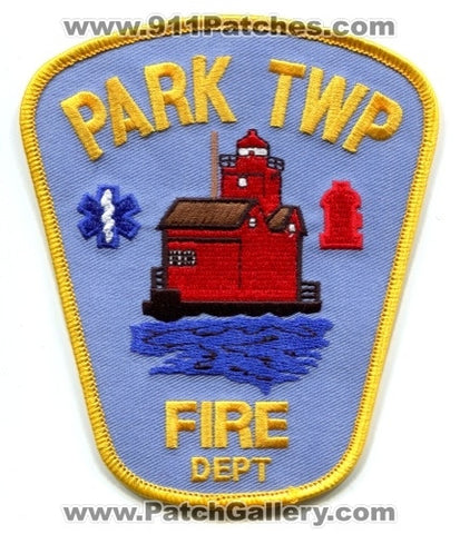 Park Township Fire Department Patch Michigan MI