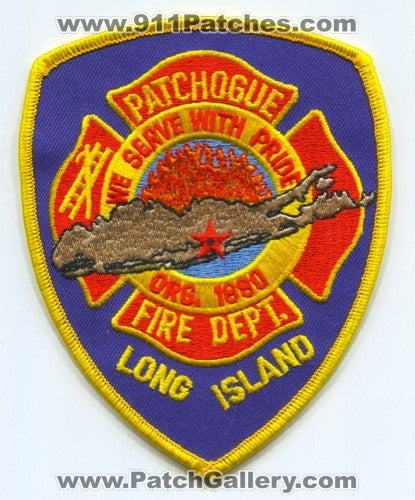 Patchogue Fire Department Patch New York NY