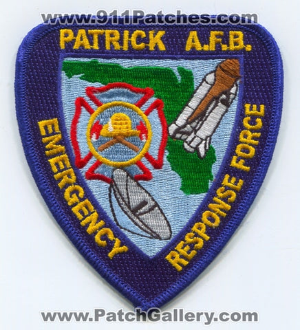 Patrick Air Force Base AFB Emergency Response Force USAF Military Patch Florida FL