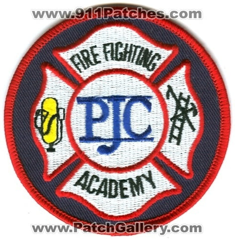 Pensacola Junior College PJC Fire Fighting Academy Patch Florida FL