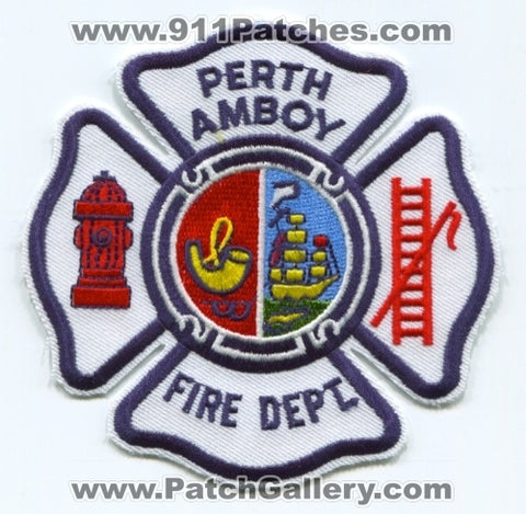 Perth Amboy Fire Department Patch New Jersey NJ