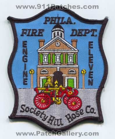 Philadelphia Fire Department Engine 11 Patch Pennsylvania PA