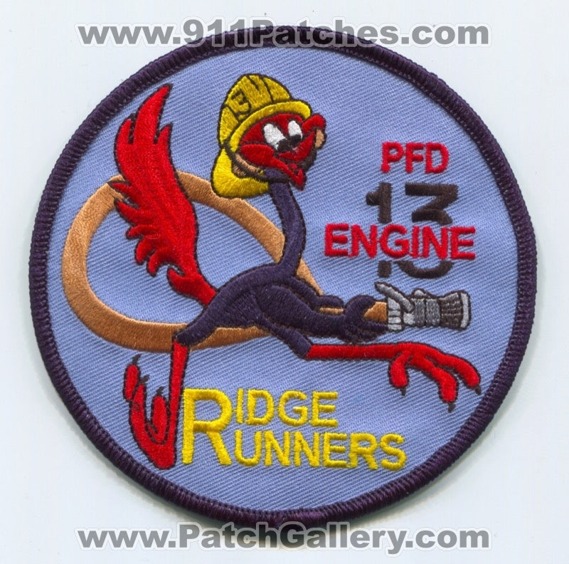 Philadelphia Fire Department Engine 13 Patch Pennsylvania PA