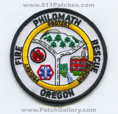 Philomath Fire Rescue Department Patch Oregon OR