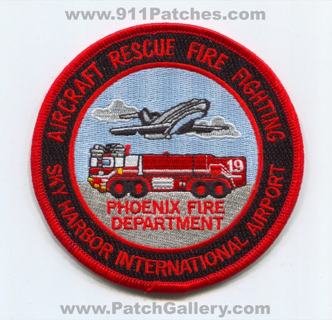 Phoenix Fire Department Sky Harbor International Airport ARFF Patch Arizona AZ