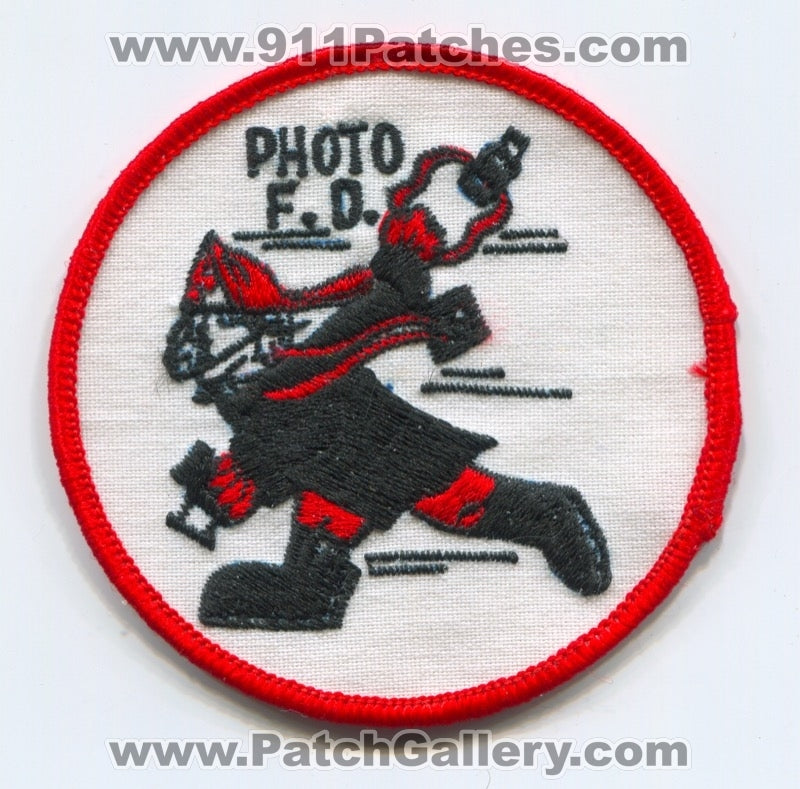 Photo Fire Department Patch Unknown State