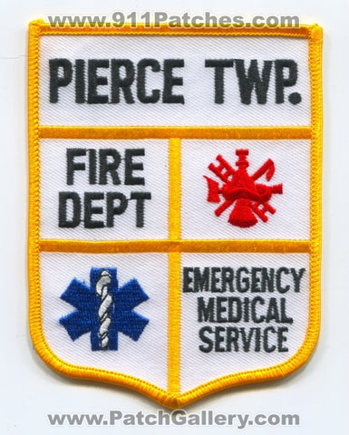 Pierce Township Fire Department Emergency Medical Services EMS Patch Ohio OH
