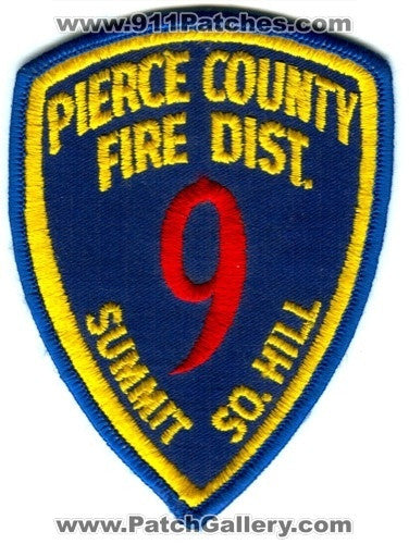 Pierce County Fire District 9 Summit South Hill Patch Washington WA