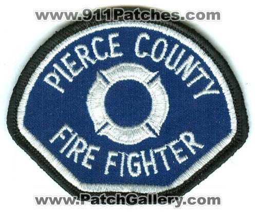 Pierce County Fire District FireFighter Patch Washington WA