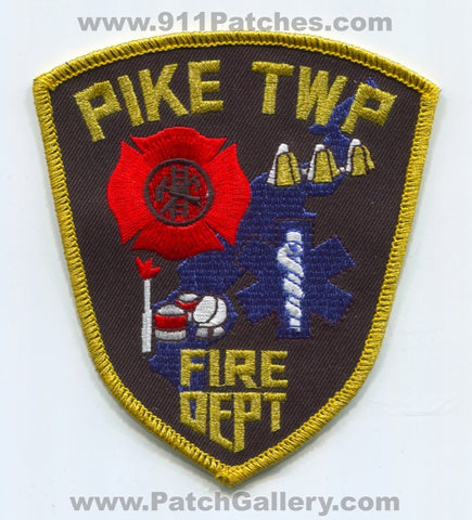 Pike Township Fire Department Patch Indiana IN