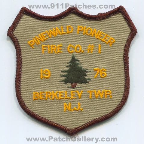 Pinewald Pioneer Fire Company Number 1 Berkeley Township Patch New Jersey NJ