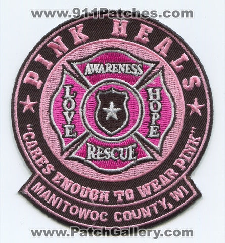 Pink Heals Inc Pink Fire Trucks Manitowoc County Patch Wisconsin WI