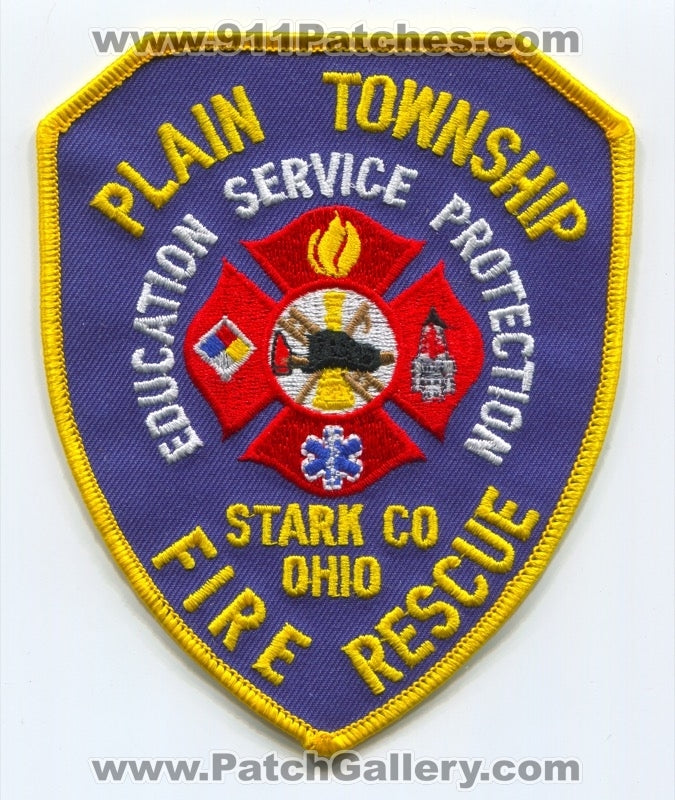 Plain Township Fire Rescue Department Stark County Patch Ohio OH