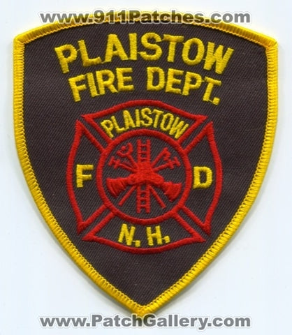 Plaistow Fire Department Patch New Hampshire NH