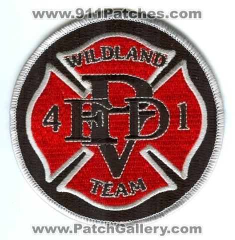Pleasant View Fire Department PVFD Wildland Team 41 Patch Colorado CO