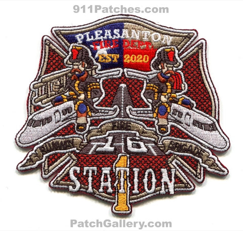 Pleasanton Fire Department Station 1 Patch Texas TX