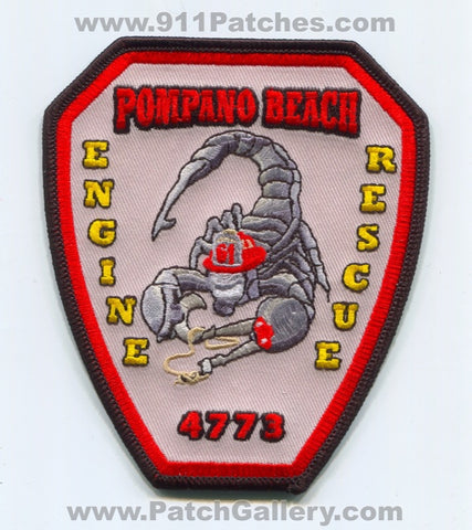 Pompano Beach Fire Department Station 61 Patch Florida FL