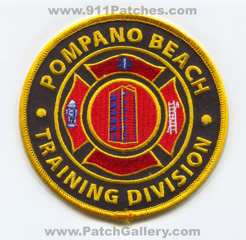 Pompano Beach Fire Department Training Division Patch Florida FL