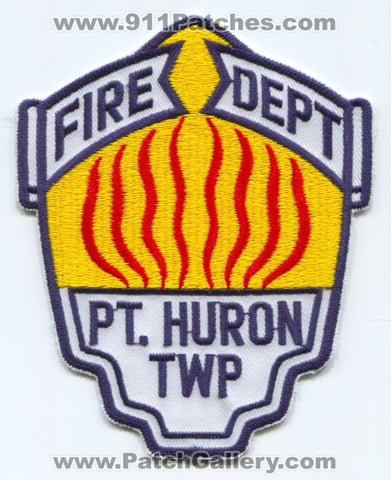 Port Huron Township Fire Department Patch Michigan MI