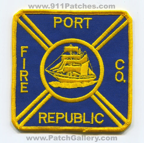 Port Republic Fire Company Patch New Jersey NJ