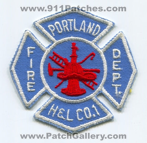 Portland Fire Department Hook and Ladder Company 1 Patch Pennsylvania PA
