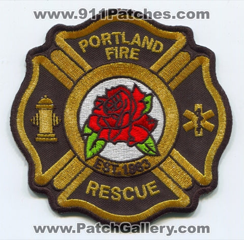 Portland Fire Rescue Department Patch Oregon OR