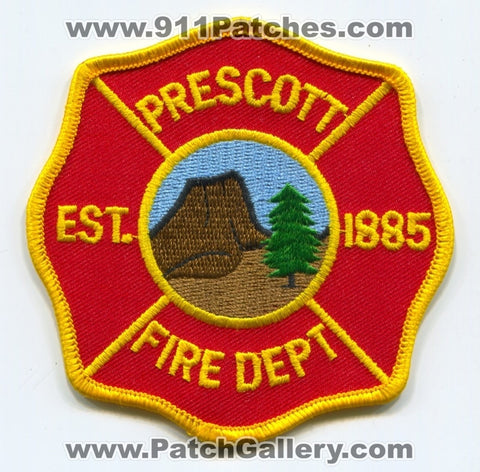Prescott Fire Department Patch Arizona AZ