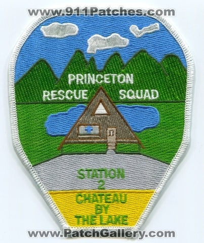 Princeton Rescue Squad Station 2 EMS Patch West Virginia WV