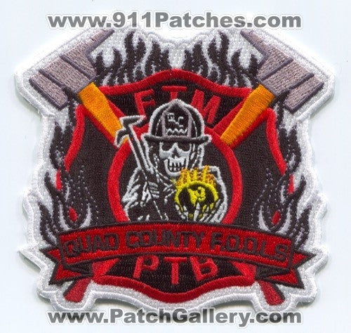 Quad County FOOLS Fire Patch Indiana IN