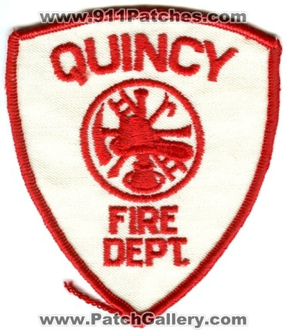 Quincy Fire Department Patch Massachusetts MA