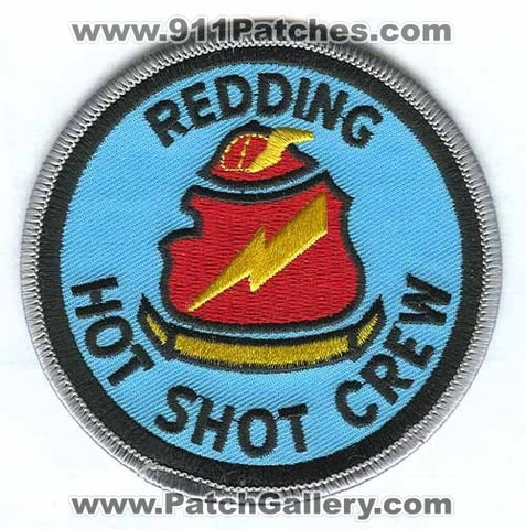 Redding Hot Shot Crew Forest Fire Wildfire Wildland Patch California CA