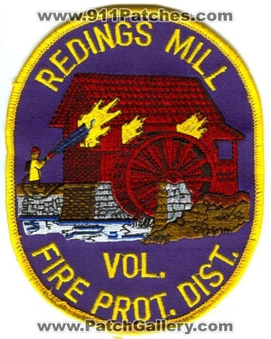 Redings Mill Volunteer Fire Protection District Patch Missouri MO