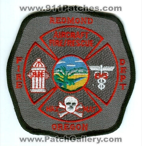 Redmond Fire Department Aircraft Rescue ARFF CFR Patch Oregon OR