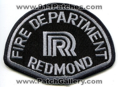 Redmond Fire Department Patch Washington WA