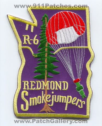 Redmond Smokejumpers Forest Fire Wildfire Wildland Patch Oregon OR