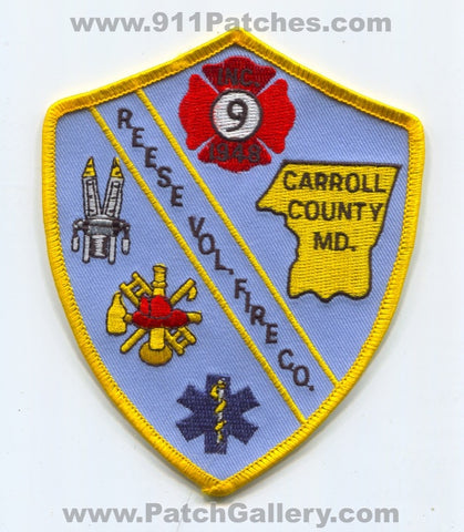 Reese Volunteer Fire Company 9 Carroll County Patch Maryland MD