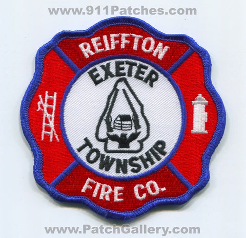 Reiffton Fire Company Exeter Township Patch Pennsylvania PA